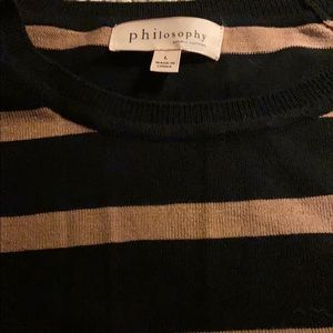 Philosophy sweater blouse